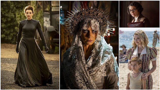 Natalie Dormer y Lorenza Izzo, Magda y Santa Muerte en Penny Dreadful: City of Angels