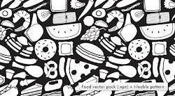 Design context blog: FOOD LOGO NUTRITION VECTORS