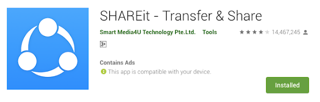SHAREit, excellent sharing app with fast cross-platform transfer speed & free