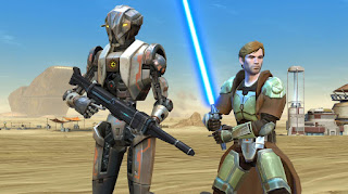 Star Wars: The Old Republic free sci-fi MMORPG game