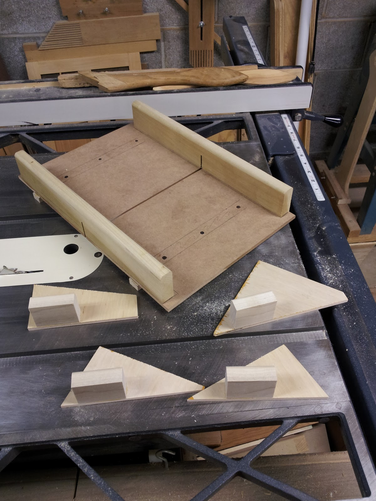 Pen Craft Table Saw Sled