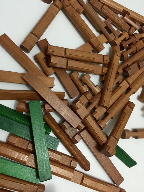 log house building toy