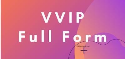 VVIP full meaning