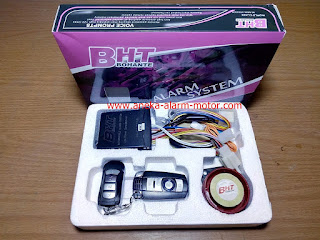 Cara Setting dan Menggunakan Remote alarm motor BHT Bohante B-008