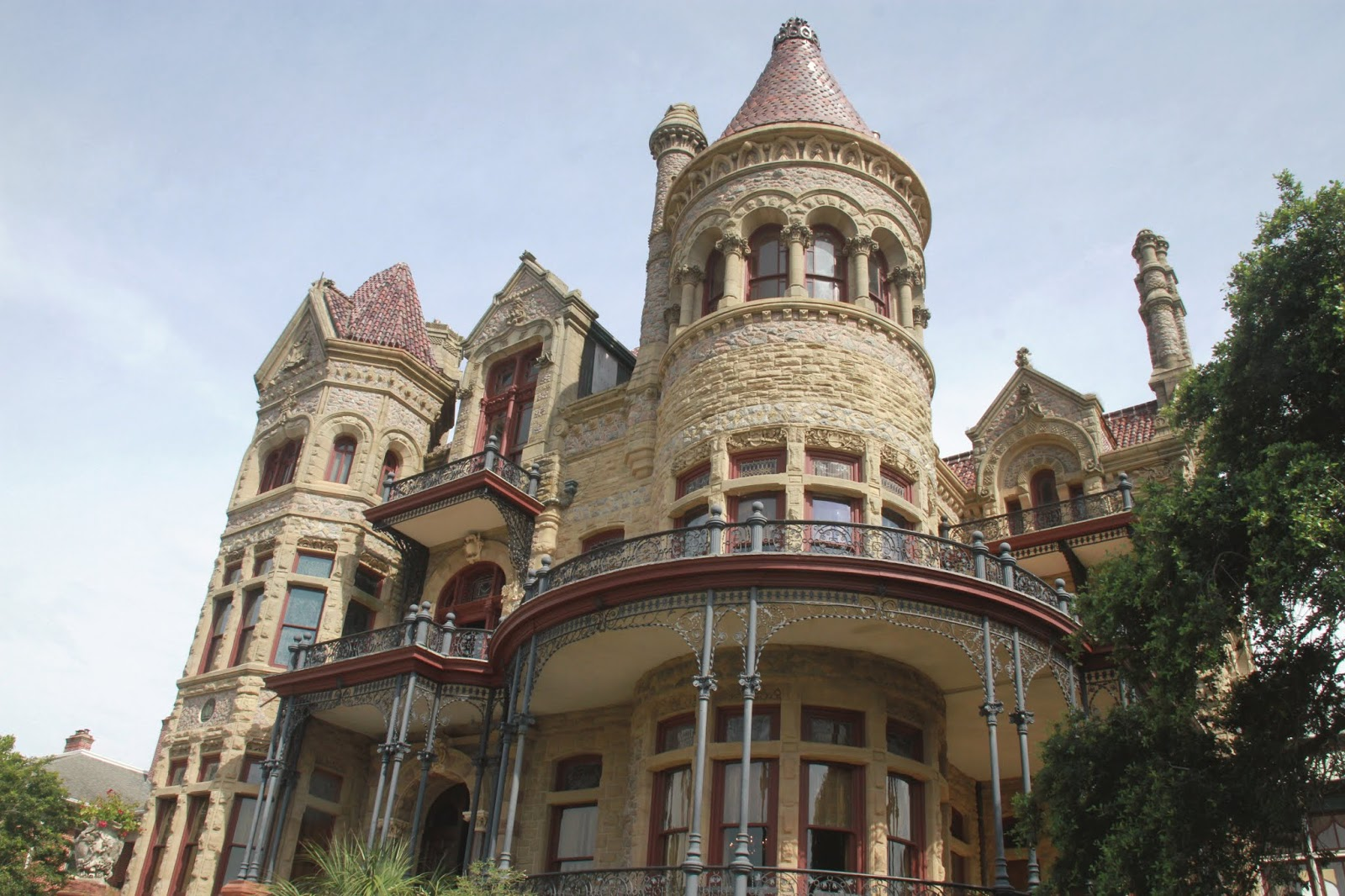 Moody Mansion Galveston, historic Galveston tours, historic Galveston homes, mansions in Galveston, mansion tours Galveston Texas, Bishops Palace Galveston