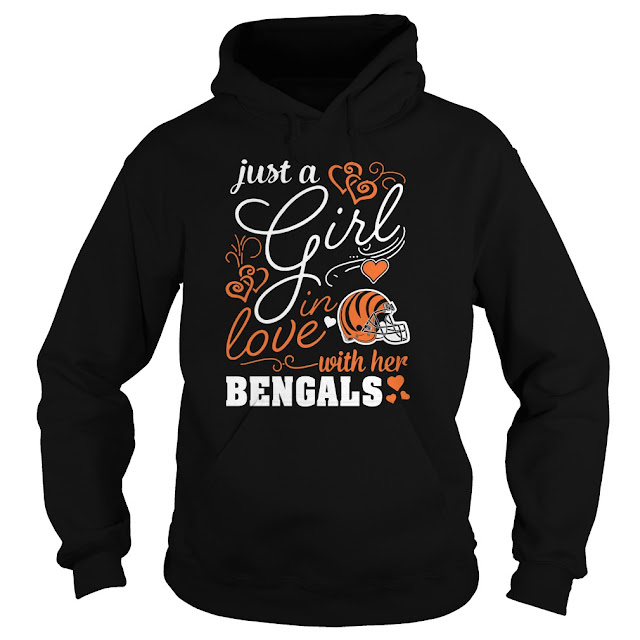 Cincinnati Bengals - Just A Girl In Love With Her Shirt