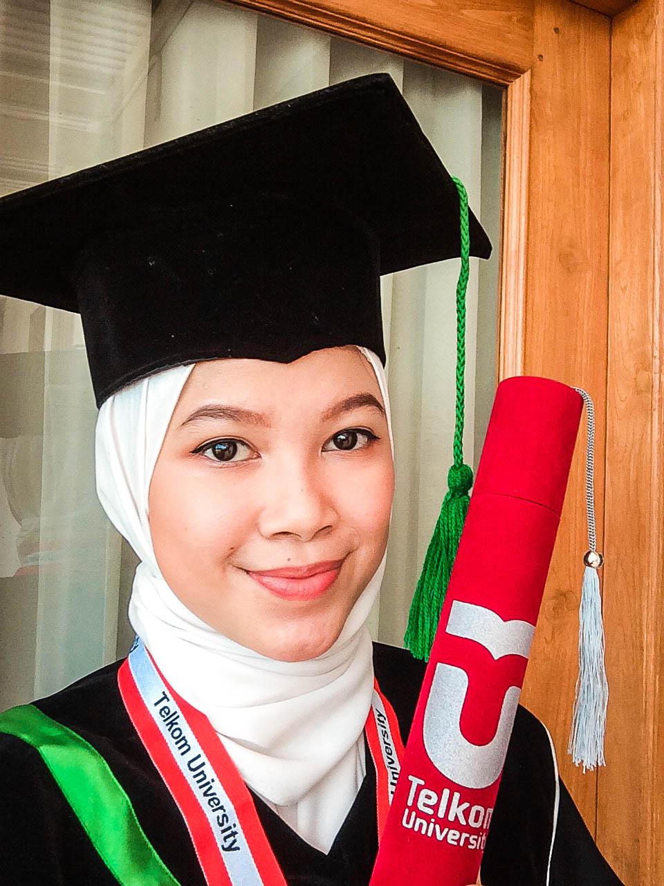 Online Graduation Telkom University 2020