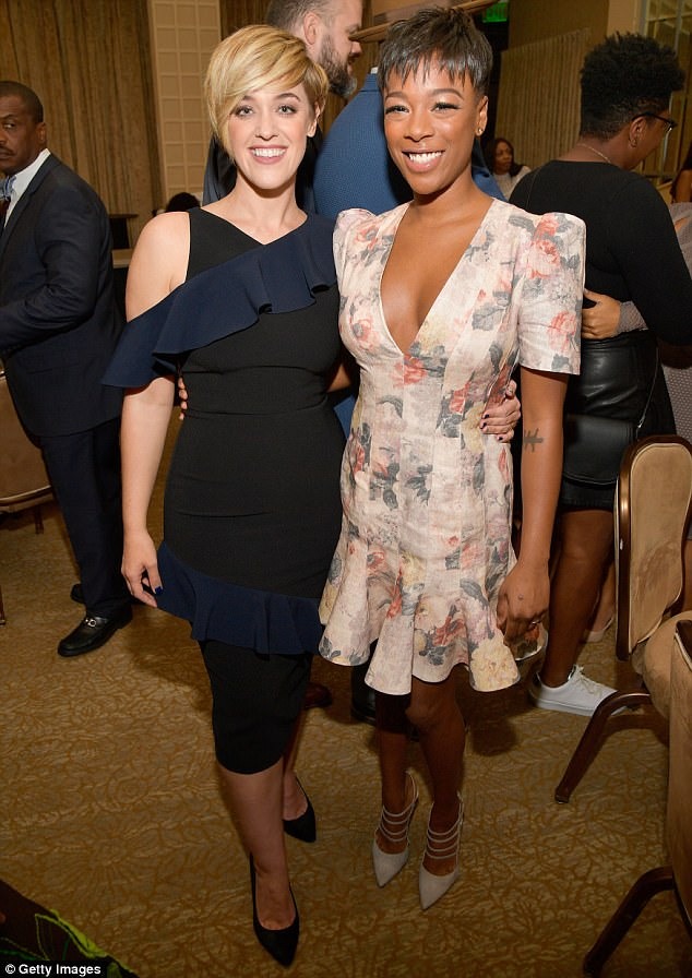 OITNB star Samira Wiley and her wife Lauren Morelli are all shades of stunning in these photos