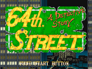 Videojuego 64th Street - A Detective Story (Arcade)