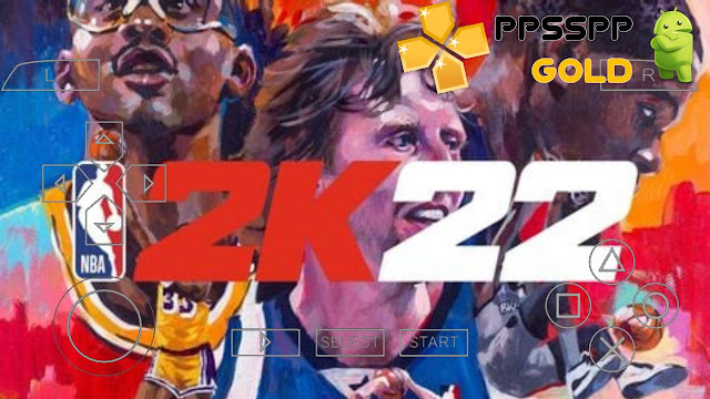 Download NBA 2K22 PPSSPP iSO PSP for Android and iOS