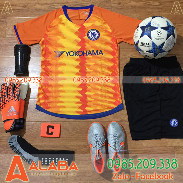 Áo Chelsea cam training
