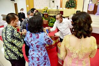 Hadiri Natal ASN, Gubernur Edy Rahmayadi Ajak Masyarakat Cintai Keberagaman