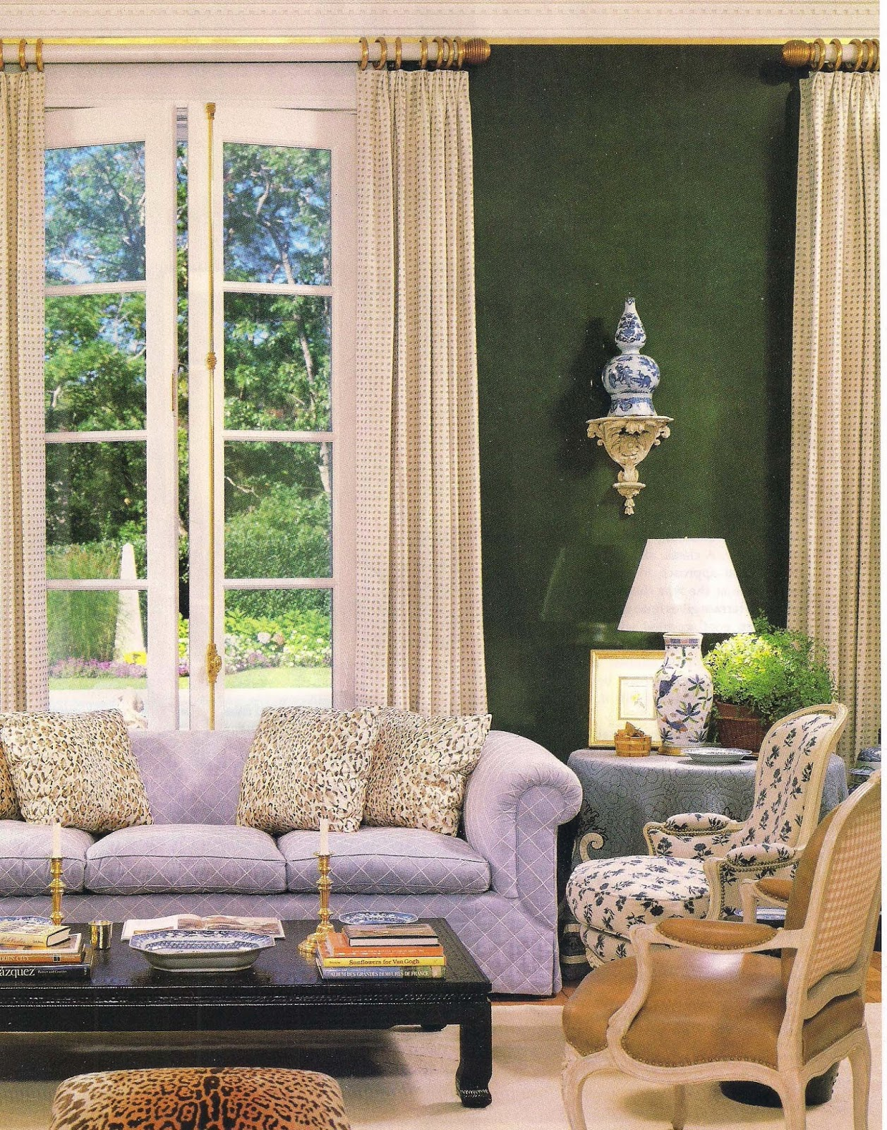 Gi Room Design: The Devoted Classicist: Kevin McNamara, Curtain Master