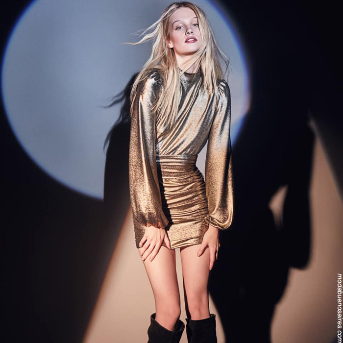 Moda invierno 2019 ropa de mujer invierno 2019.