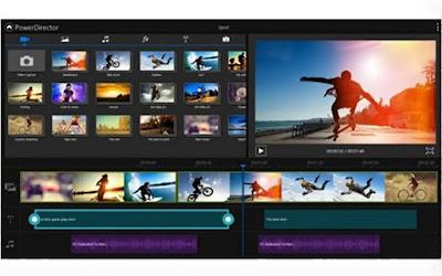 PowerDirector Video Editor - APLIKASI EDIT VIDEO TERBAIK DI SMARTPHONE
