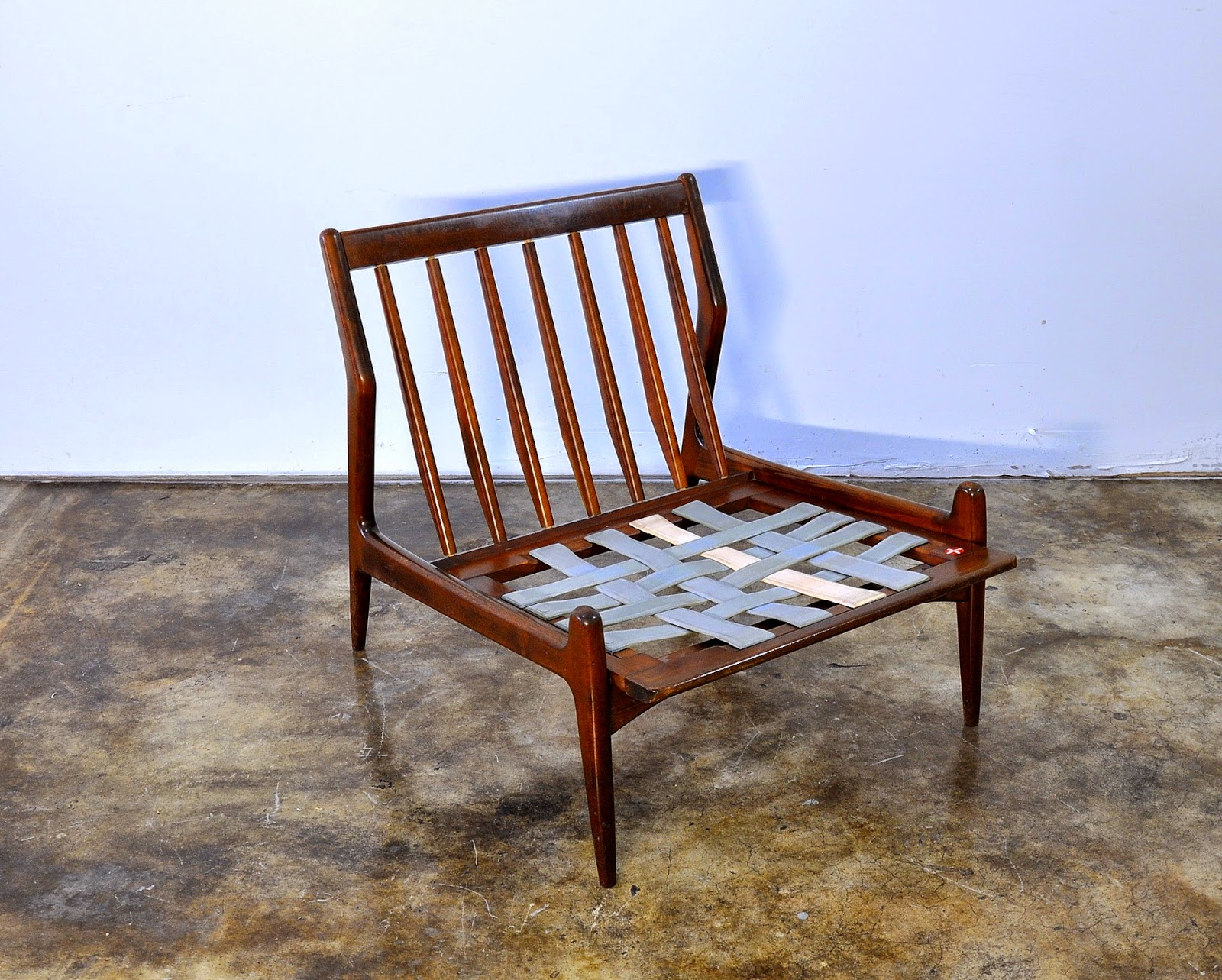 Select Modern Ib Kofod Larsen Slipper Chair