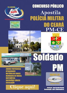 Apostila Polícia Militar-CE para o concurso PM/CE para Soldado PM CE 2016
