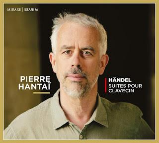 Handel Suites de Pièces nos 1-4, 1720; Pierre Hantaï; Mirare
