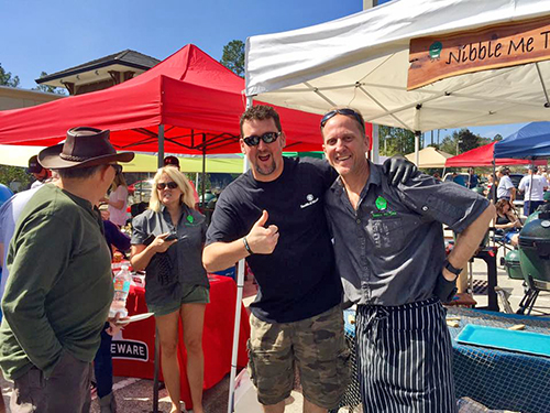 Great times at the North Florida Big Green Egg Eggfest 2017