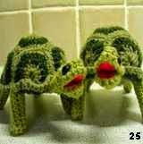 patron gratis tortuga amigurumi, free amigurumi pattern turtle