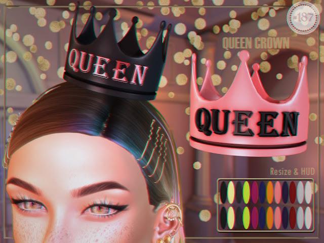Queen Crown @ Unik