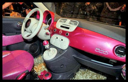 5ooblog fiat 5oo new fiat 500 barbie paris. Black Bedroom Furniture Sets. Home Design Ideas