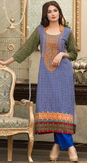 Moon Textile Batik Lawn Collection 2017-18