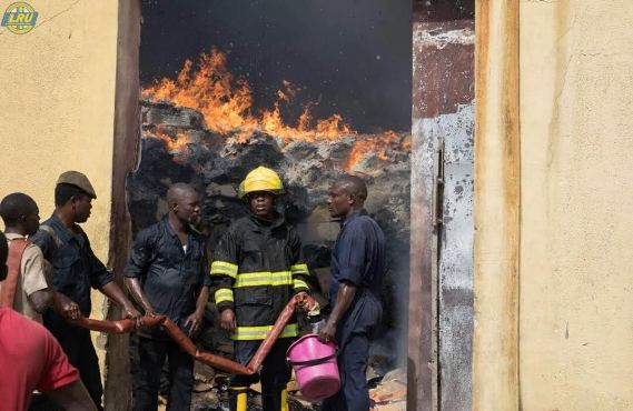Update: No Casualties recorded after fire incident at Dangote factory in Ikorodu
