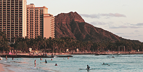 Waikiki Beach Hawaii Travel Photography