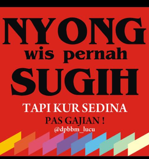 52 Gambar  Kata Kata Lucu  Bahasa Jawa  2020 Gambar  Lucu