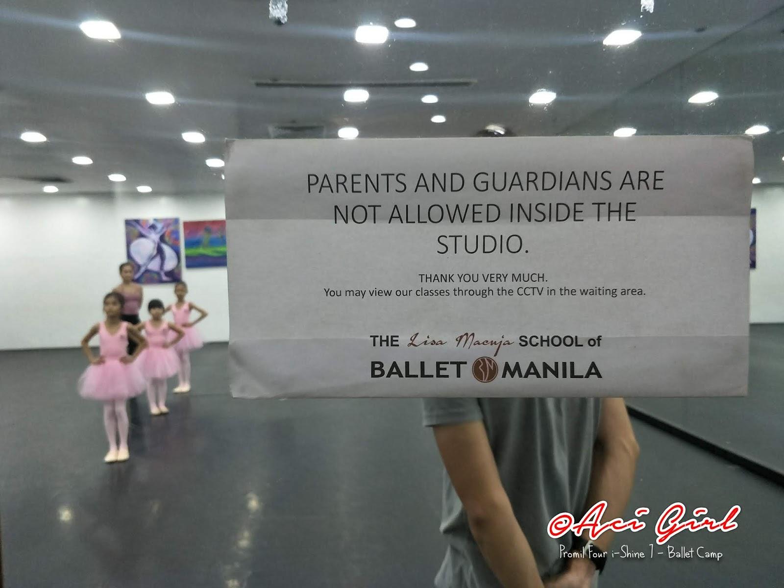 Ballet Camp i-Shiner Ricci