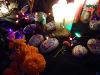 dia de los muertos, day of the dead display
