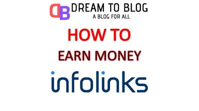 How to make money online with Infolinks