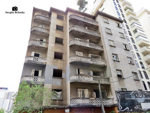 Vista ampla do Edifício Garcia - Bela Vista / Morro dos Ingleses - São Paulo