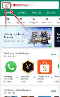 cara menghentikan update otomatis google playstore