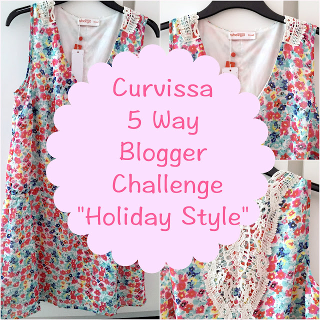 Curvissa Five Way Blogger Challenge - Holiday Style