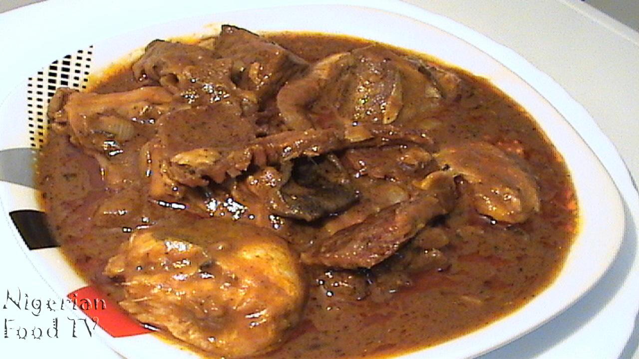 Banga stew recipe, banga soup, ofe akwu, urhobo banga soup