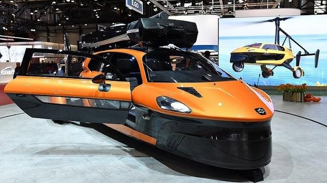 عرض أول سيارة طائرة غير مسبوقة في الولايات المتحدة