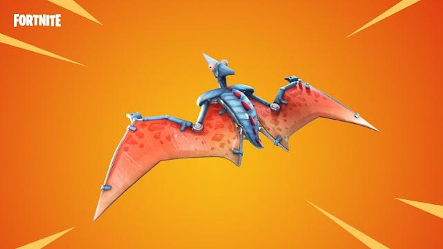 Fortnite introduce el paracaídas pterodáctilo coincidiendo con el estrenos de Jurassic World !