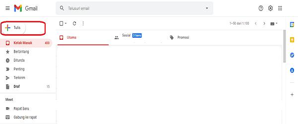 cara mengirim email tanpa terlihat
