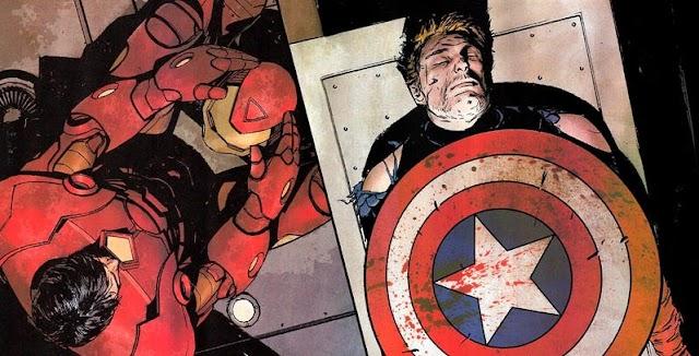 6 Kematian Captain America di Komik