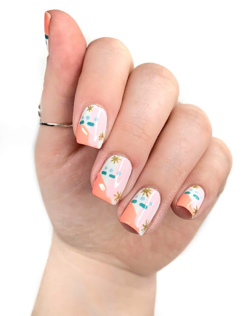 Easy Abstract Nail Art