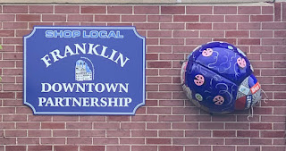 "Franklin Downtown Partnership: ""Ladybug Trail Springing to Life"""