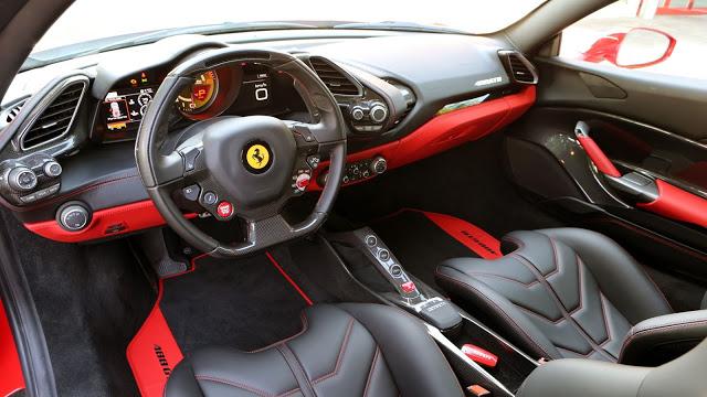 Ferrari 488 GTB Specifications