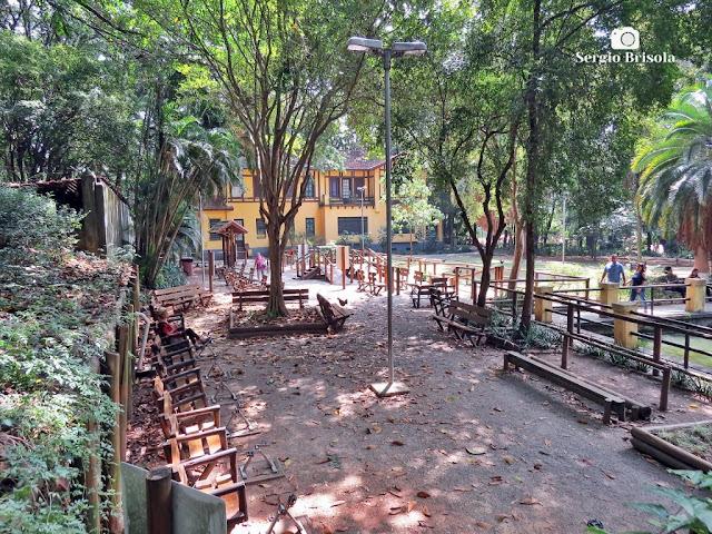 Vista do Espaço Terceira Idade do Parque da Água Branca - São Paulo