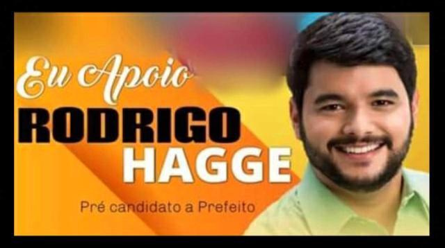 Sem reação de opositores, prefeito Hagge antecipa campanha eleitoral nas redes