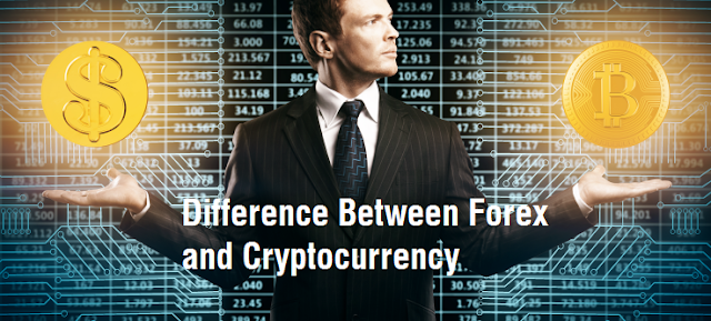 Difference Between Forex and Cryptocurrency