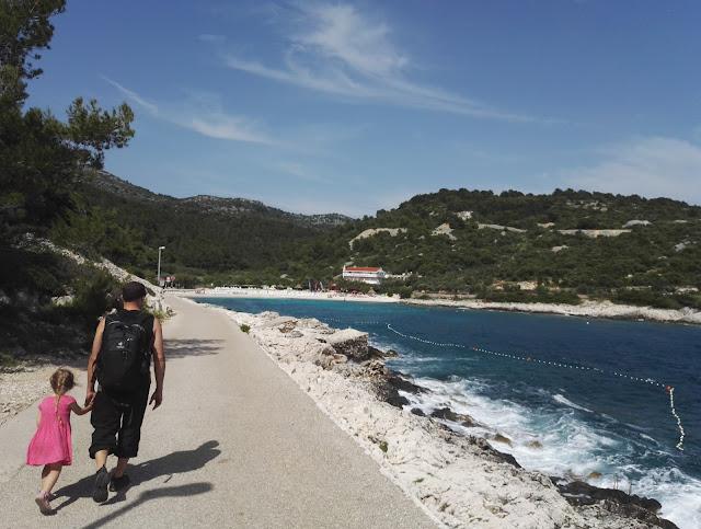 Kroatia perhe matkoilla