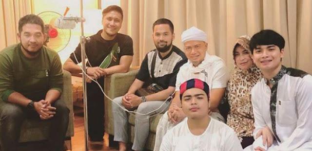 Beredar Kabar Arifin Ilham Meninggal Dunia, Yusuf Mansur Langsung ke RS