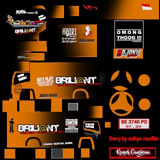 Download Livery Truck Berliant